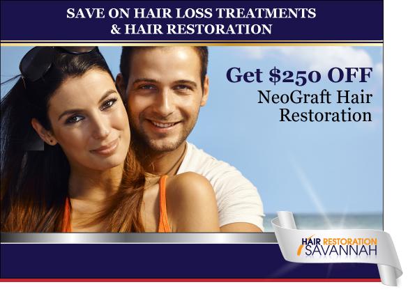 Hair Restoration Savannah Special Save on Neograft Hair Restoration