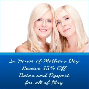 Monthly Specials for May