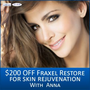Monthly Specials include $200 off Fraxel