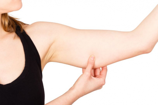Get rid of loose skin on your arms!