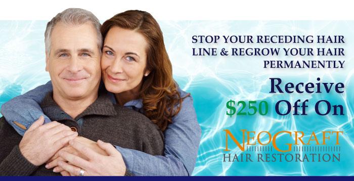 SAVE $250 On Neograft Hair Restoration/ Hair Transplant