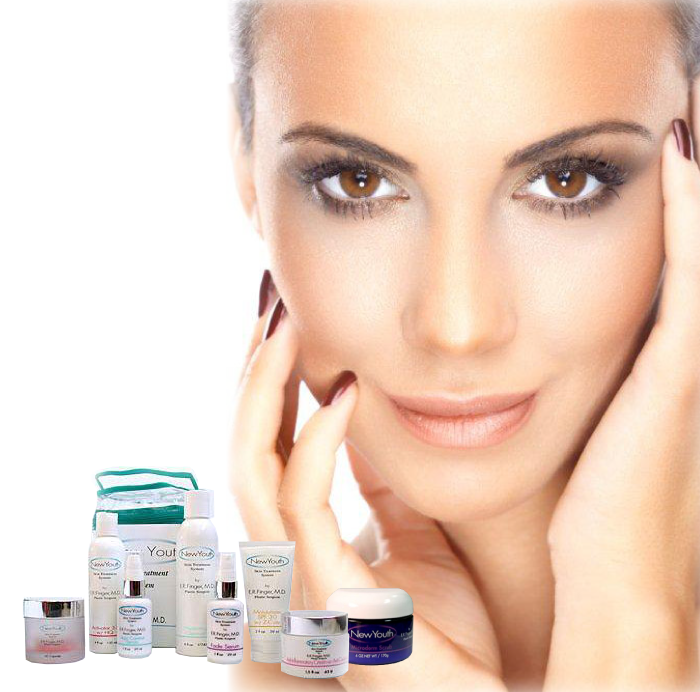 look youthful with skin care treatment