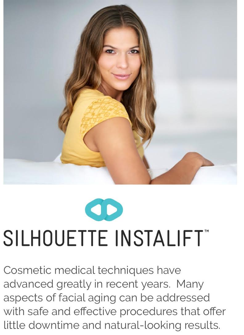 Silhouette Instalift is a nonsurgical alternative to a face lift