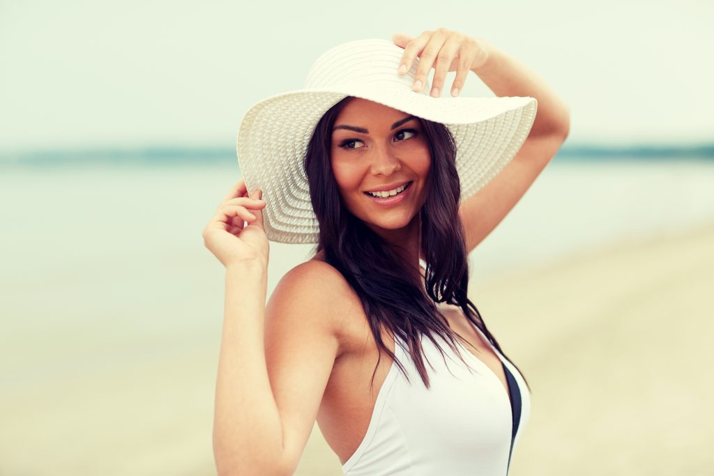 Breast Augmentation Surgery can give women the confidence to go to the beach and wear a bikini.