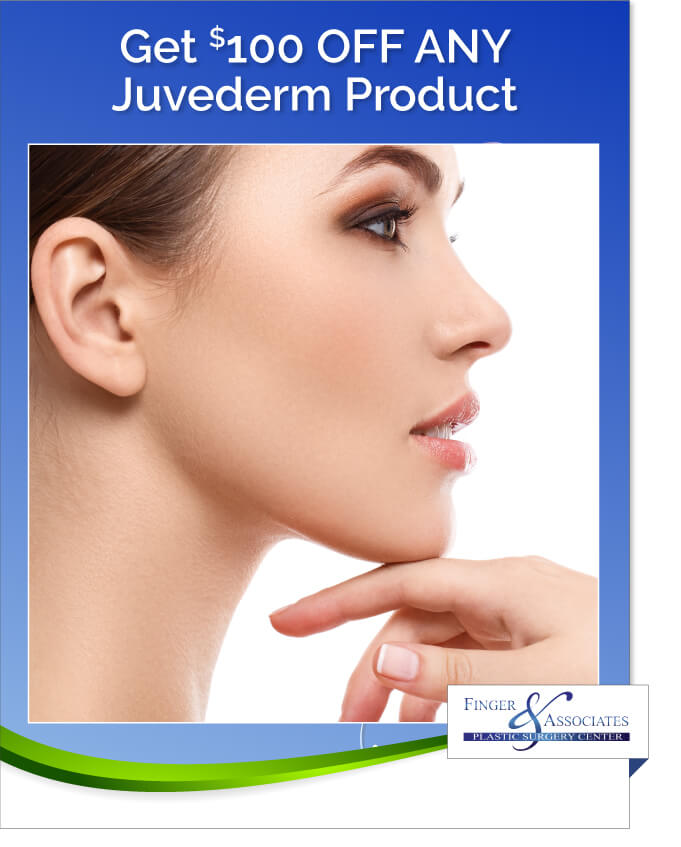 Finger and Associates Specials Save on Juvederm