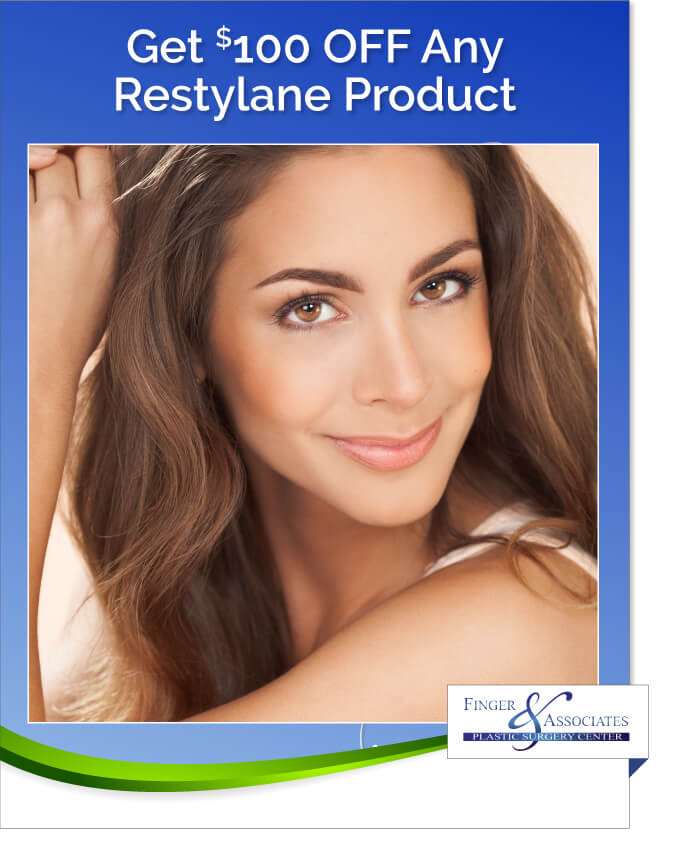 Finger and Associates Specials Save on Restylane