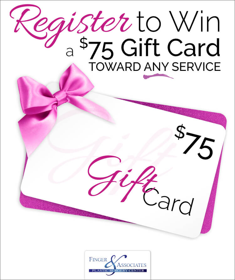 Register To Win a $75 Gift Card Toward Any Service