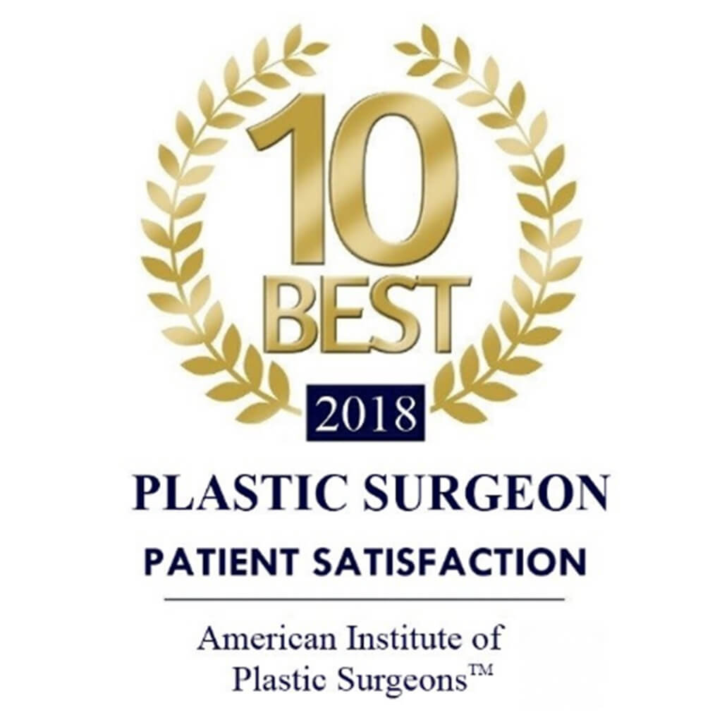 Best 10 in 2018 American Institute of Plastic Surgeons Dr. E. Ronald Finger MD