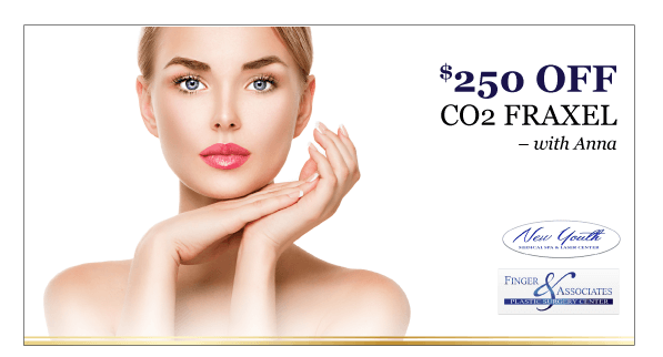Finger and Associates and New Youth Medical Spa Specials_$250 OFF-CO2 FRAXEL