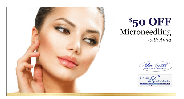 Finger and Associates Specials_$50 OFF-Microneedling