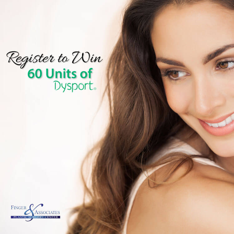 Register to Win 60 Units of Dysport at Finger and Associates