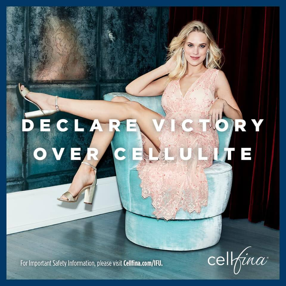 Declare Victory over cellulite this year ! Choose Cellfina