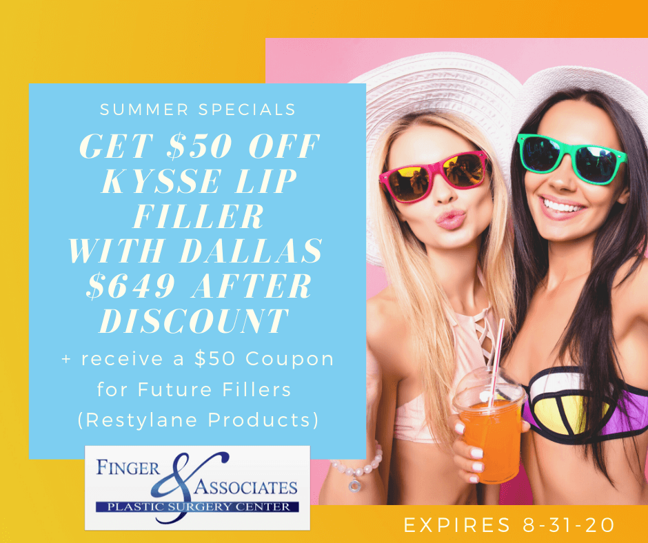 Kysse Lip Filler at Finger and Associates