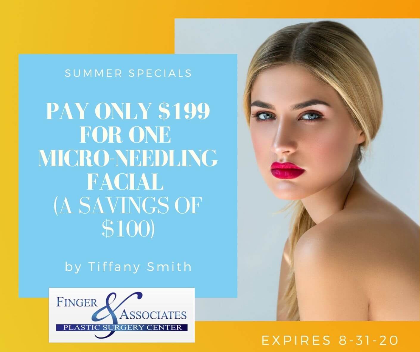 Summer specials by Tiffany Smith