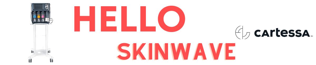Hello Skin Wave Banner